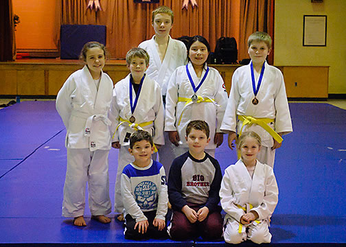 Pottstown Judo Club Kids Class 2013